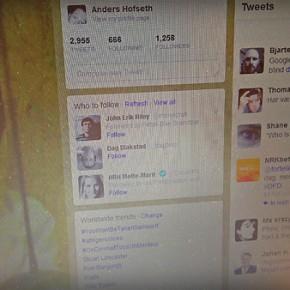 Om Twitter, breaking news og Terrortwitterprosjektet